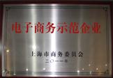 """一比多(上海火速)榮獲""""上海市商務委員會電子商務示范企業""""稱號"""